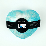 "Bath fizzer ""TRUE LOVE"" (blue)"