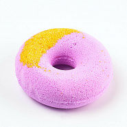 "Bath fizzer ""Strawberry and banana donut"""