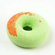 "Bath fizzer ""Peach and kiwi donut"""